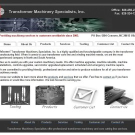 Transformer Machinery Specialists