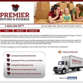 Premier Moving and Storage