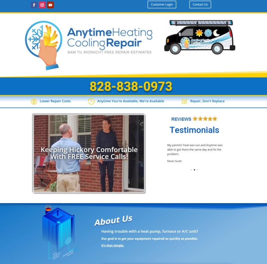 Anytime Heating Cooling Hickory NC